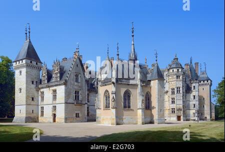 France cher berry region jacques coeur road menetou for Chateau de menetou salon