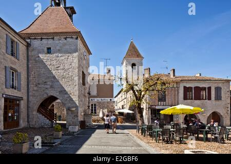 France Lot et Garonne Tournon d'Agenais - Stock Photo