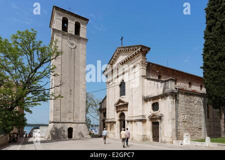 Croatia Istria Adriatic Coast Pula cathedral - Stock Photo