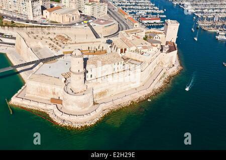 France Bouches du Rhone Marseille European capital of culture 2013 Esplanade J4 MuCEM or Museum of Civilization - Stock Photo