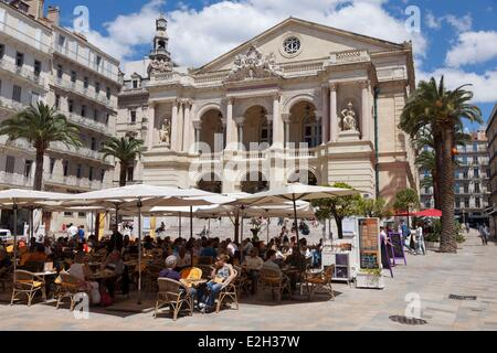 France Var Toulon Toulon opera former Municipal theatre - Stock Photo