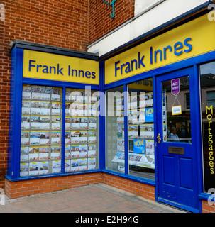 Frank Innes property estate agent Arnold Nottingham England UK - Stock Photo
