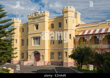 Somerset Hospital, Cape Town, Western Cape, South Africa - Stock Photo