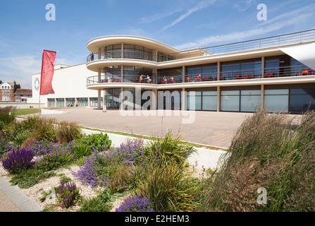 De La Warr Pavilion, Bexhill on Sea, East Sussex, England, UK - Stock Photo