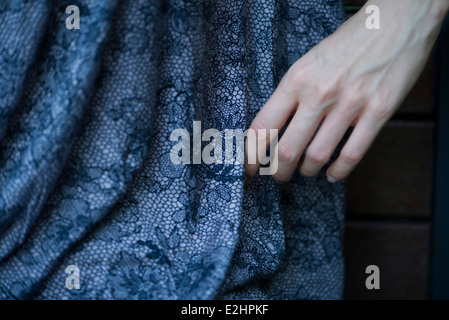 Close-up of woman's hand - Stock Photo