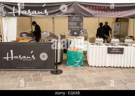 Bradford, West Yorkshire, UK. 20th June, 2014.  Now in its fifth year, the World Curry Festival is a three-day jamboree - Stock Photo