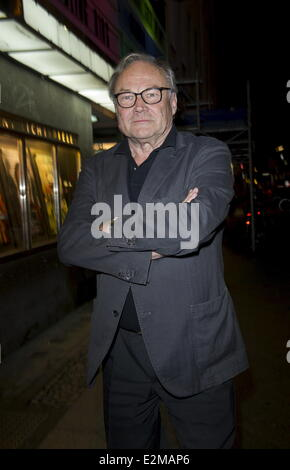Klaus Maria Brandauer at the Der Fall Wilhelm Reich Premiere at Kant Kino movie theater.  Where: Berlin, Germany - Stock Photo