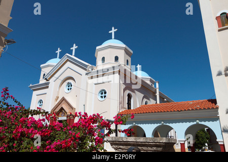 Church of Agia Paraskevi at Kos island in Greece - Stock Photo