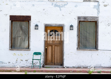 Old buidling in Denio, Nevada. - Stock Photo