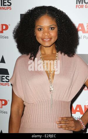 AARP Magazine presents the 2013 Movies for Grownups Awards held at the Peninsula Hotel  Featuring: Kimberly Elise - Stock Photo