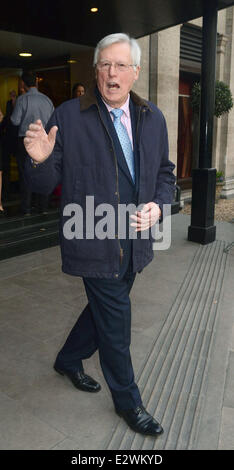The TRIC Awards 2013 held at the Grosvenor House Hotel - Arrivals  Featuring: John Craven Where: London, United - Stock Photo
