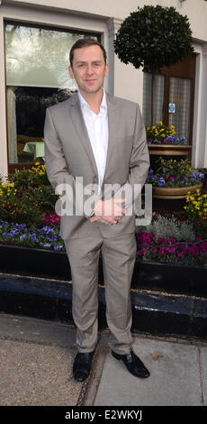 The TRIC Awards 2013 held at the Grosvenor House Hotel - Arrivals  Featuring: Scot Mills Where: London, United Kingdom - Stock Photo