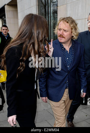 The TRIC Awards 2013 held at the Grosvenor House Hotel - Departures  Featuring: Keith Lemon Where: London, United - Stock Photo