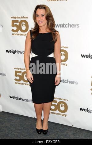 Weight Watchers celebrates it's 50th anniversary with a tribute to it's founder by Jennifer Hudson  Featuring: Heather - Stock Photo