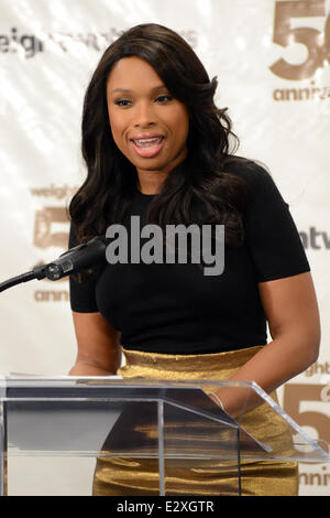 Weight Watchers celebrates it's 50th anniversary with a tribute to it's founder by Jennifer Hudson  Featuring: Jennifer - Stock Photo