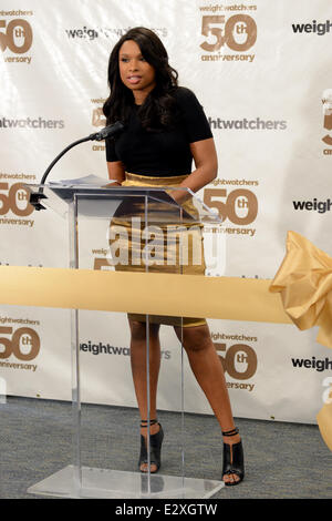Weight Watchers celebrates it's 50th anniversary with a tribute to it's founder by Jennifer Hudson  Where: New York, - Stock Photo