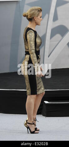 Los Angeles Premiere of Paramount Pictures' 'Star Trek Into Darkness'  - Outside Arrivals  Featuring: Alice Eve - Stock Photo