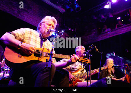 Fairport Convention performing at The Brook  Featuring: Simon Nicol,Dave Pegg,Chris Leslie Where: Southampton, United - Stock Photo