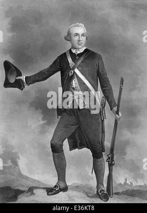 Dr. Joseph Warren, 1741 - 1775, an American officer in the American Revolutionary War, - Stock Photo