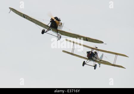 Great War Display Team - Stock Photo