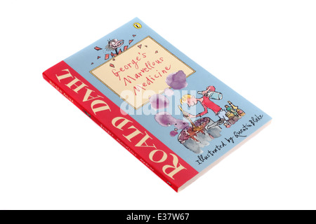 George's Marvellous Medicine, a children's book by Roald Dahl - Stock Photo