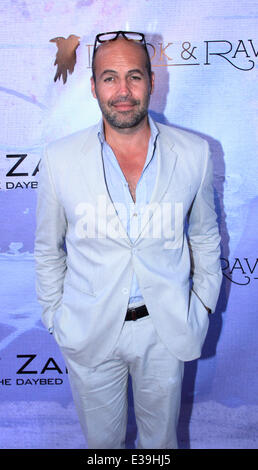 Hollywood's Preview to Billy Zane's London Art Exhibition 'Seize The Day Bed'  Featuring: Billy Zane Where: Los - Stock Photo