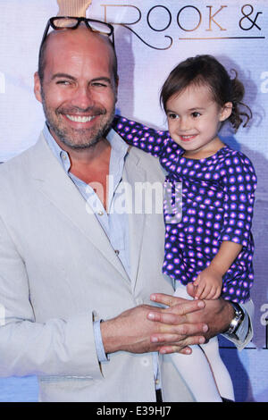 Hollywood's Preview to Billy Zane's London Art Exhibition 'Seize The Day Bed'  Featuring: Billy Zane,Eva Katerina - Stock Photo