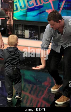 Channing Tatum on spanish TV show, El Hormiguero Featuring ...