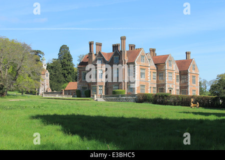 Breamore House, an Elizabethan Manor House, Breamore, Hampshire, UK - Stock Photo