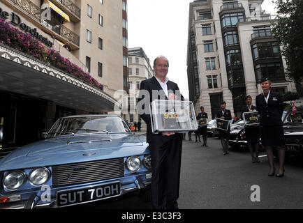William Boyd launches his new James Bond novel, 'Solo' at The Dorchester  Featuring: William Boyd Where: London, - Stock Photo