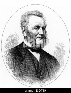DAVID MOORE (1807-1879) Scottish botanist - Stock Photo
