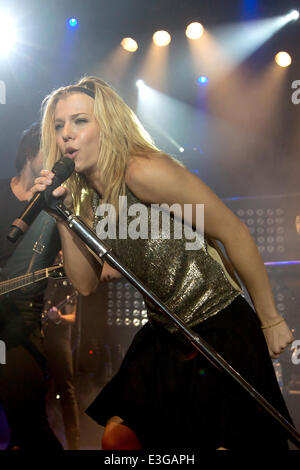 The Band Perry kick off their 'We Are Pioneers' world tour in Sweden  Featuring: Kimberly Perry,The Band Perry Where: - Stock Photo