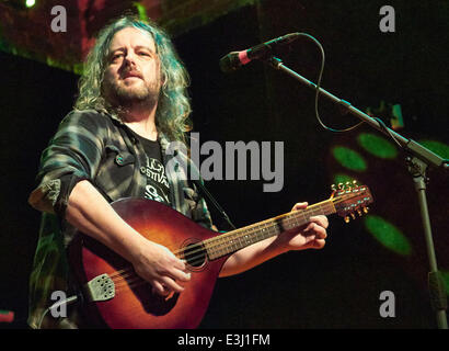 Adrian Edmondson and his band The Bad Shepherds performing at The Brook  Featuring: Troy Donockley Where: Southampton, - Stock Photo
