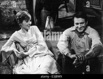 julie andrews,rock hudson,darling lili - Stock Photo