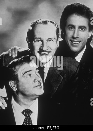 abbott and costello meet jerry seinfeld - Stock Photo