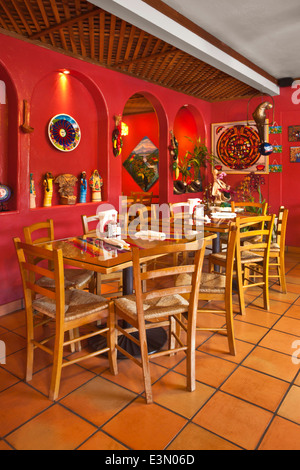 MEXICAN RESTAURANT INTERIOR Stock Photo Royalty Free Image