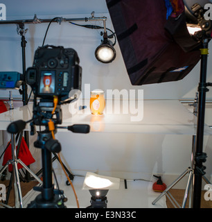 Commercial photography studio including lighting background and commercial photography set including lighting background and grip gear stock photo aloadofball Images