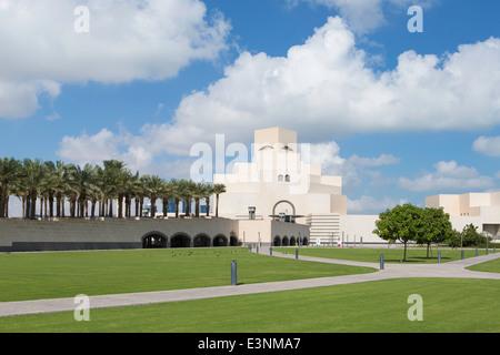 Arabian Peninsula, Qatar, Doha, Museum of Islamic Art - Stock Photo