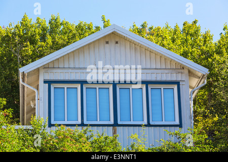 House gable with window - Stock Photo