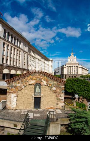 Sveta Petka Samardjinska Church, 14th century, Ploshad Sveta Nedelya square, central Sofia, Bulgaria, Europe - Stock Photo
