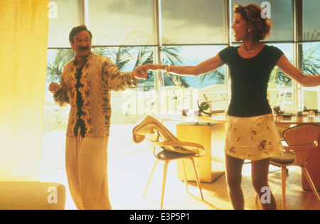 THE BIRDCAGE  1996 MGM/UA film with Robin Williams and Christine Baranski - Stock Photo