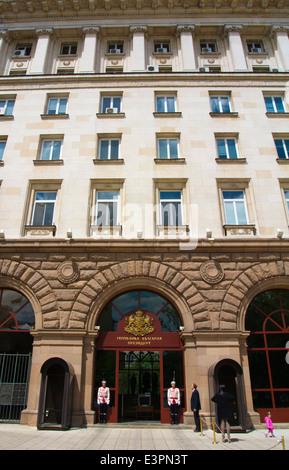 Presidential palace, central Sofia, Bulgaria, Europe - Stock Photo