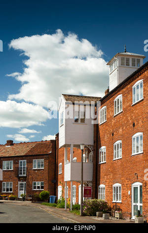 UK England, Suffolk, Lavenham, Roper's Court, apartments in former industrial building - Stock Photo