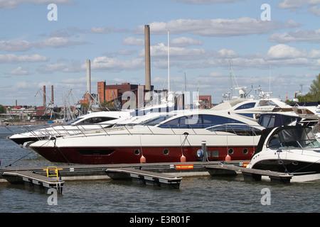 North Harbour Helsinki - Stock Photo