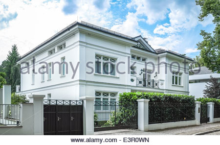 Luxury House in Berlin, Grunewald - Stock Photo