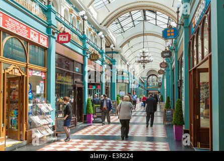 Great Western Arcade, Birmingham, West Midlands, England,  UK, GB, EU, Europe - Stock Photo
