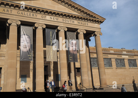 Art Gallery of New South Wales in Sydney, established in 1880 - Stock Photo