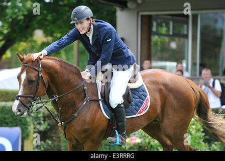 Hickstead, West Sussex, UK. 28th June 2014. 28.6.14 ...