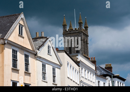 Honiton Devon,Honiton is a market town and civil parish in East Devon, situated close to the River Otter, 17 miles - Stock Photo