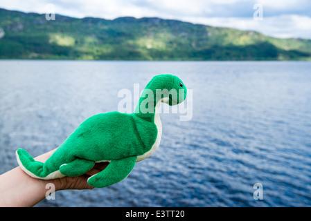 Nessie: Loch Ness Monster - Stock Photo